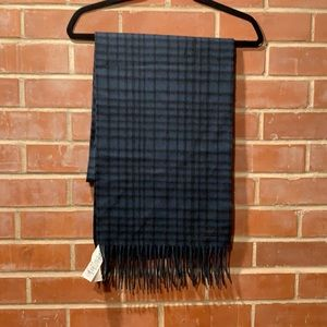 Coach brand new with tags wild plaid scarf
